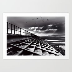 Crosby Steps Art Print