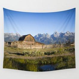 Mormon Row Grand Tetons Wall Tapestry
