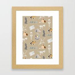 Archeo pattern Framed Art Print