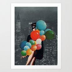 BIRTHDAY PRESENT Art Print