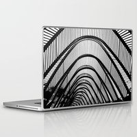 contemporary Laptop & iPad Skins featuring Contemporary Agora by Alfani Photography