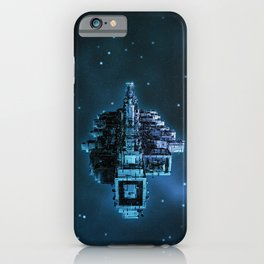 Leviathan BLUE / Keep on trucking iPhone Case