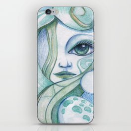 Voice Of The Sea iPhone Skin