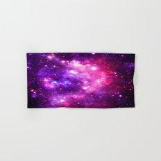 Purple Pink Galaxy Nebula Hand & Bath Towel