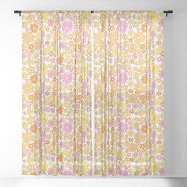 vintage 26 Sheer Curtain