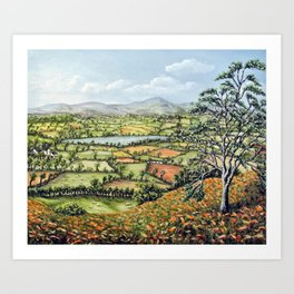 Pen Y Fan, Brecon Beacons Art Print