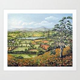 Pen Y Fan, Brecon Beacons Art Print