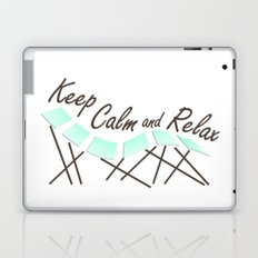 Keep Calm and Relax Laptop & iPad Skin