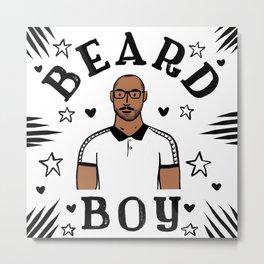 Beard Boy: Jerome 2 Metal Print