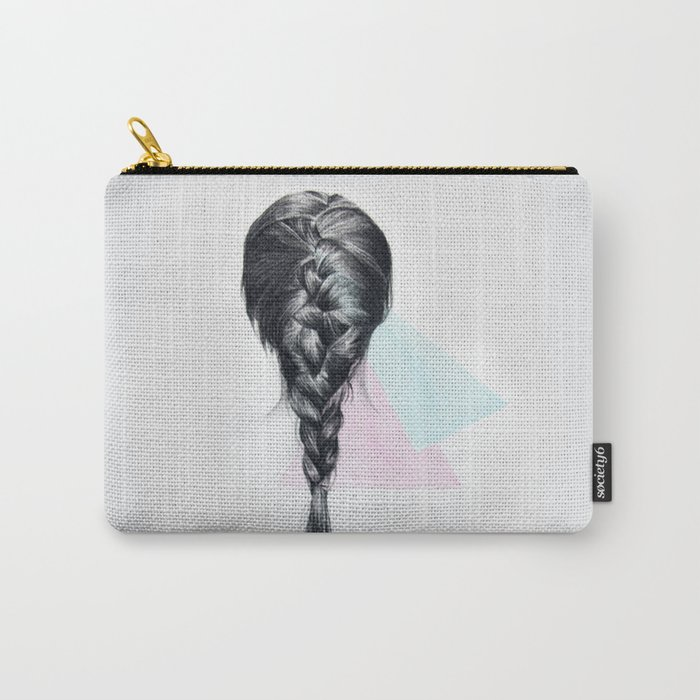 Hair Illustration  Carry-All Pouch