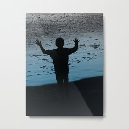 Cambria Boy Metal Print