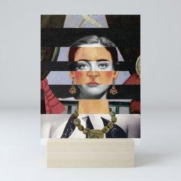 F. K.'s Self Portrait Time Flies & Joan Crawford Mini Art Print