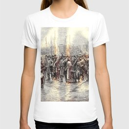 Isaac Lazarus Israels - Departure Of A Detachment Of Troops To Ni, Rotterdam T-shirt