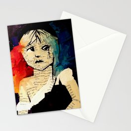 Le Miserables Collage Stationery Cards