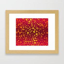 Hearts 2 Framed Art Print