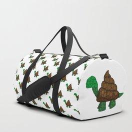 Turdle - Poop - Turtle - 57 Montgomery Art Duffle Bag
