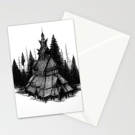 Fantoft Stave Church Stationery Cards