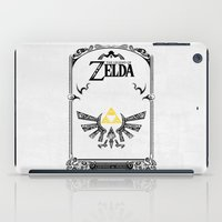 legend of zelda iPad Cases featuring Zelda legend - Hyrulian Emblem by Art & Be