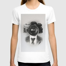 Faces of the Past: Camera _no stripes T-shirt