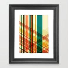pattern 3 Framed Art Print