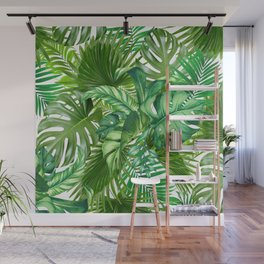 green tropic Wall Mural