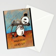 HOLD YOUR HEAD UP Stationery Cards