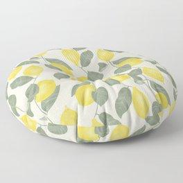 Citrus Pattern Floor Pillow