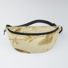 Vintage Print - The Birds of Australia (1890) - Grass-Warblers Fanny Pack