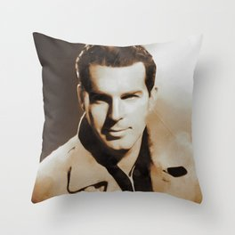 Hollywood Classics, Fred MacMurray, Actor Throw Pillow