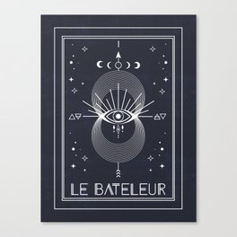 The Magician or Le Bateleur Tarot Canvas Print