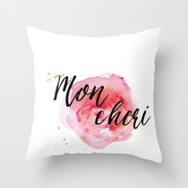Mon Cheri Throw Pillow