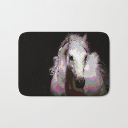 White Arabian Bath Mat