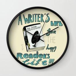 Happy readers Wall Clock