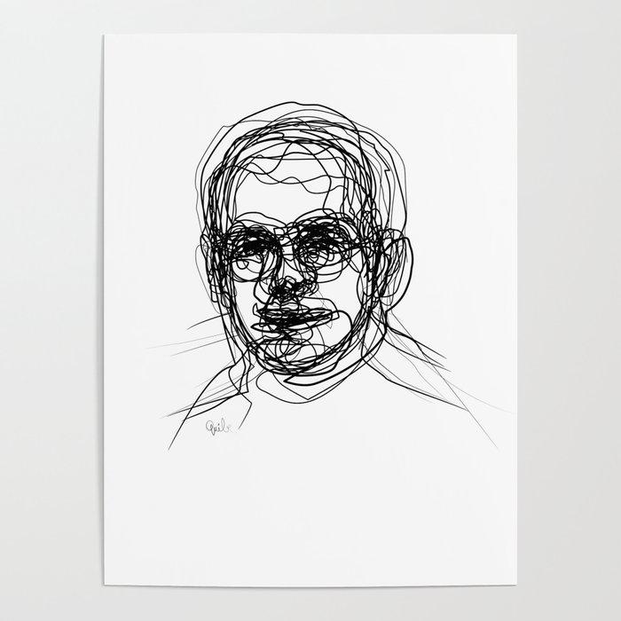 Auto portrait as a young man