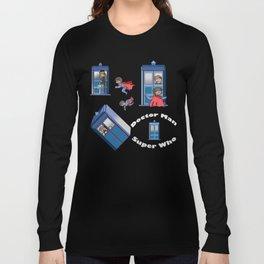 Doctor V.s Super Long Sleeve T-shirt