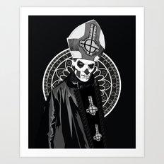 Ghost B.C. - Papa Emeritus II Art Print