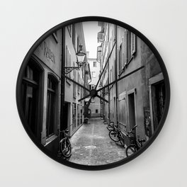 European Stroll Wall Clock
