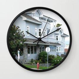 378. Big American House, Vancouver, Canada Wall Clock