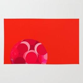 Sexyplexi dots in red mini ball Rug
