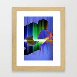 The saxophone player 02 Framed Art Print
