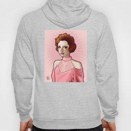 Andie in Pink Hoody