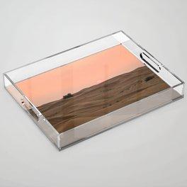 Arabian Desert Sunset Acrylic Tray