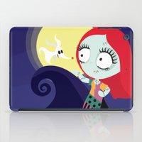 nightmare before christmas iPad Cases featuring Sally from Nightmare before Christmas  by Piccolinart
