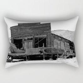 Old Butte Mining Camp in Randsburg, California Rectangular Pillow