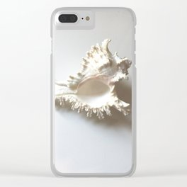 Conch Still Life Clear iPhone Case