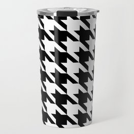 Classic Houndstooth Travel Mug