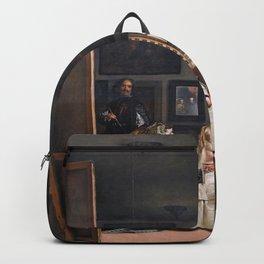 Diego Velazquez, Las Meninas, 1656 Masterpiece, Wall Art, Prints, Posters, Tshirts, Men, Women, Kids Backpack