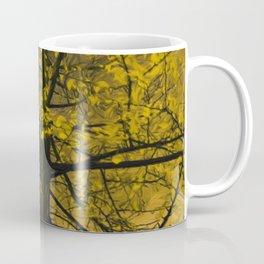 Fall Yellow Tree Painting Coffee Mug