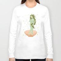 venus Long Sleeve T-shirts featuring Venus by LordofMasks