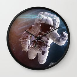 Space art Wall Clock